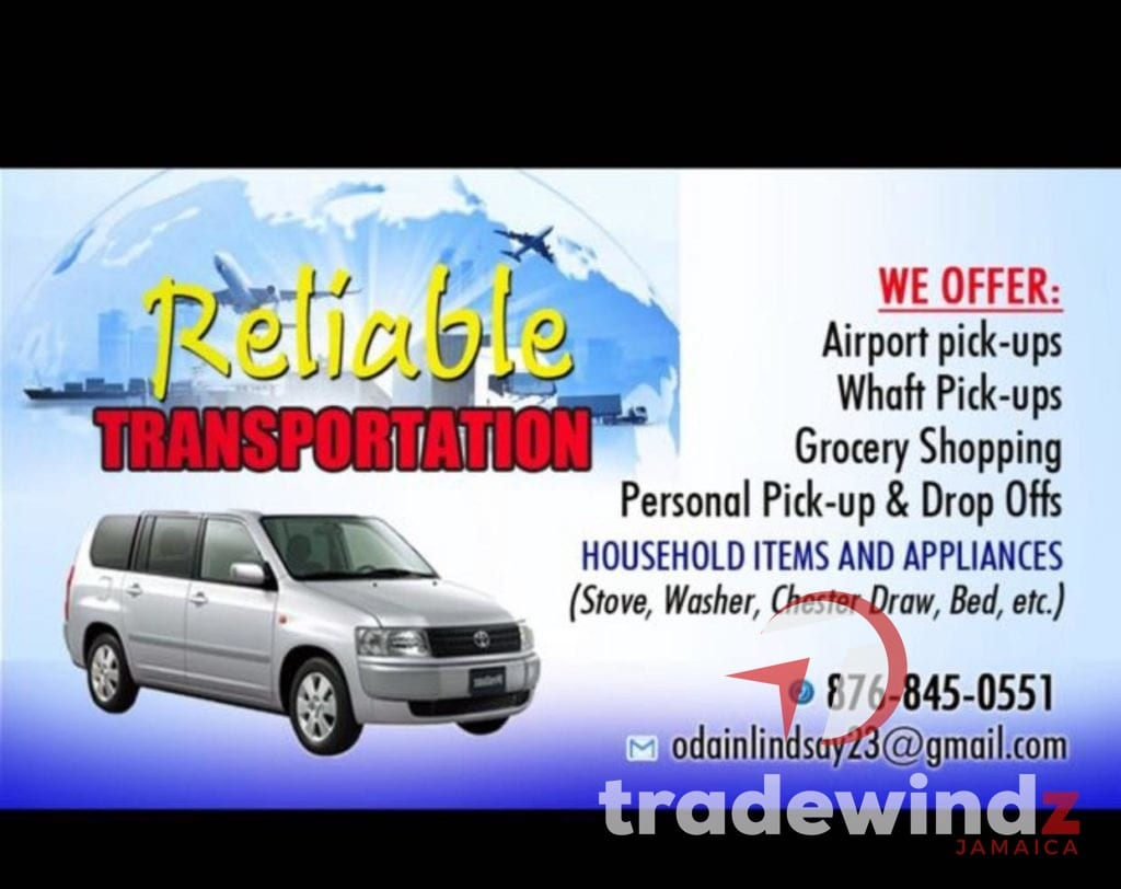 Reliable Transportation – Pickup and Delivery